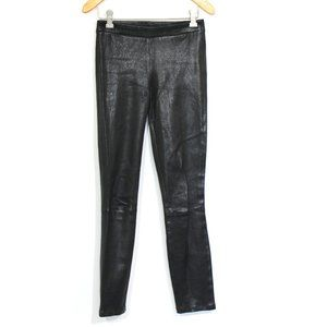 J. Brand Lamb Leather Skinny Leggings